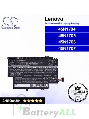 CS-LVS125NB For Lenovo Laptop Battery Model 45N1704 / 45N1705 / 45N1706 / 45N1707
