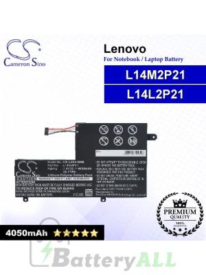 CS-LVS410NB For Lenovo Laptop Battery Model L14L2P21 / L14M2P21