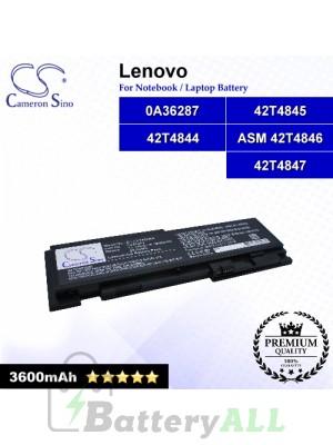 CS-LVT420NB For Lenovo Laptop Battery Model 0A36287 / 0A36309 / 42T4844 / 42T4845 / 42T4846 / 42T4847