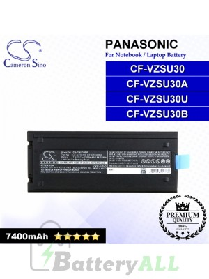 CS-CRU30NB For Panasonic Laptop Battery Model CF-VZSU30 / CF-VZSU30A / CF-VZSU30B / CF-VZSU30U