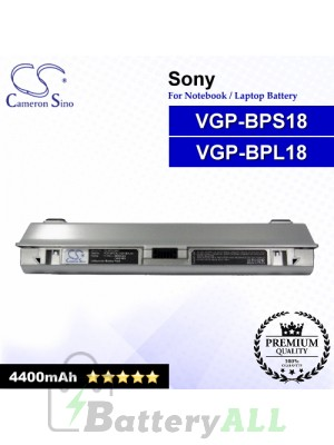 CS-BPS18NT For Sony Laptop Battery Model VGP-BPL18 / VGP-BPS18