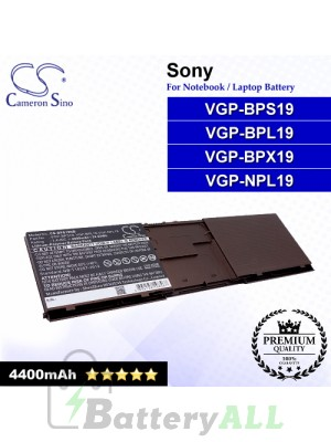 CS-BPS19NB For Sony Laptop Battery Model VGP-BPL19 / VGP-BPS19 / VGP-NPL19