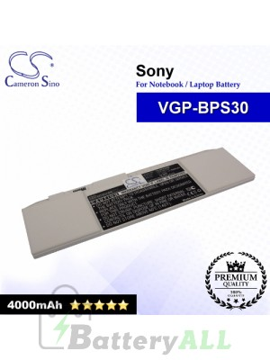 CS-BPS30NB For Sony Laptop Battery Model VGP-BPS30 / VGP-BPS30A