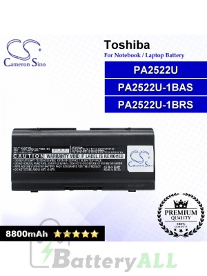 CS-TO2450HB For Toshiba Laptop Battery Model 3Z012468ASE / APS BL1354 / G71C00023610 / P000381400