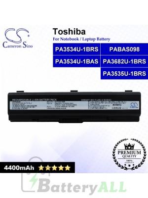 CS-TOA210NB For Toshiba Laptop Battery Model PA3533U-1BAS / PA3533U-1BRS / PA3534U-1BAS / PA3534U-1BRS