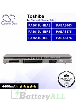 CS-TOA602NB For Toshiba Laptop Battery Model PA3612U-1BAS / PA3612U-1BRS / PA3614U-1BRP / PABAS103