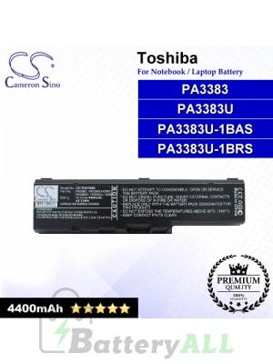 CS-TOA70NB For Toshiba Laptop Battery Model PA3383 / PA3383U / PA3383U-1BAS / PA3383U-1BRS