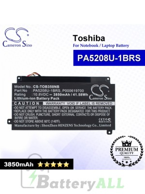 CS-TOB350NB For Toshiba Laptop Battery Model P000619700 / PA5208U-1BRS