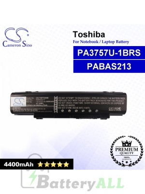 CS-TOF750NB For Toshiba Laptop Battery Model PA3757U-1BRS / PABAS213