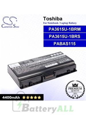 CS-TOL45HB For Toshiba Laptop Battery Model PA3615U-1BRM / PA3615U-1BRS / PABAS115