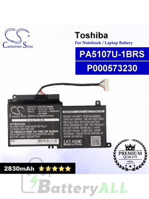 CS-TOL550NB For Toshiba Laptop Battery Model P000573230 / P000617510 / PA5107U-1BRS