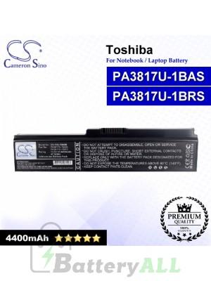 CS-TOL700NB For Toshiba Laptop Battery Model PA3817U-1BAS / PA3817U-1BRS