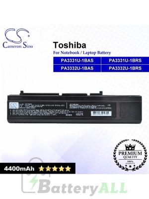 CS-TOM30 For Toshiba Laptop Battery Model PA3331U-1BAS / PA3331U-1BRS / PA3332U-1BAS / PA3332U-1BRS
