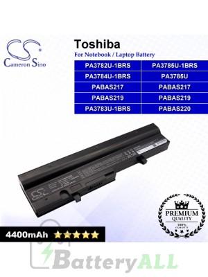 CS-TOM300NB For Toshiba Laptop Battery Model PA3782U-1BRS / PA3783U-1BRS / PA3784U-1BRS / PA3785U