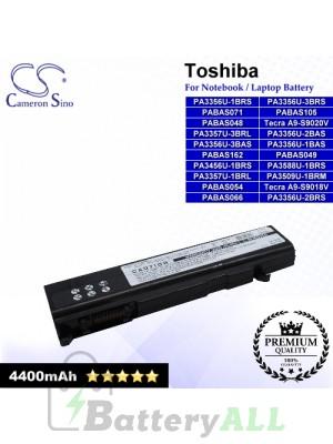 CS-TOM500NB For Toshiba Laptop Battery Model PA3356U-1BAS / PA3356U-1BRS / PA3356U-2BAS / PA3356U-2BRS
