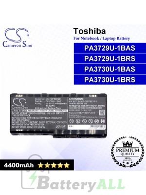 CS-TOP500NB For Toshiba Laptop Battery Model PA3729U-1BAS / PA3729U-1BRS / PA3730 / PA3730U-1BAS