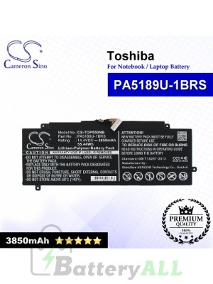 CS-TOP550NB For Toshiba Laptop Battery Model P000602690 / PA5189U-1BRS