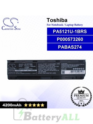 CS-TOP750NB For Toshiba Laptop Battery Model P000573260 / PA5121U-1BRS / PABAS274