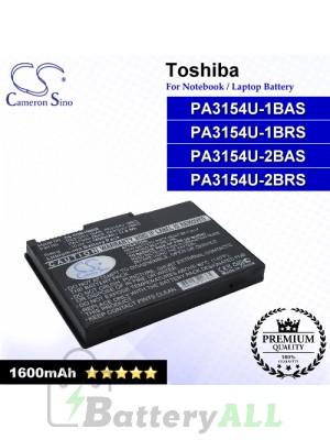 CS-TOR100NB For Toshiba Laptop Battery Model PA3154U-1BAS / PA3154U-1BRS / PA3154U-2BAS / PA3154U-2BRS