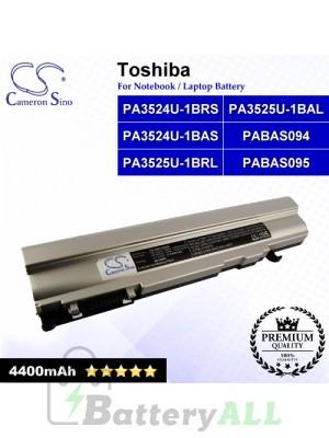 CS-TOR300NB For Toshiba Laptop Battery Model PA3524U-1BAS / PA3524U-1BRS / PA3525U-1BAL / PA3525U-1BRL