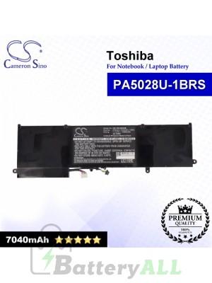 CS-TOU800NB For Toshiba Laptop Battery Model PA5028U-1BRS