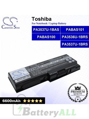 CS-TOX200HB For Toshiba Laptop Battery Model PA3536U-1BRS / PA3537U-1BAS / PA3537U-1BRS / PABAS100