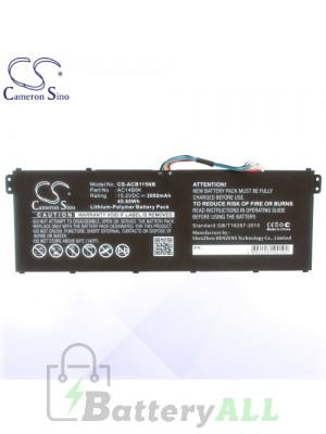 CS Battery for Acer AC011353 / AC14B18K / AC14B18K (4ICP5/57/80) Battery L-ACB115NB