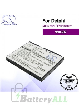 CS-DXM3SL For Delphi Mp3 Mp4 PMP Battery Model 990307