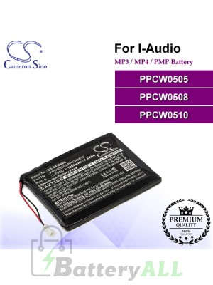 CS-SFM6SL For i-Audio Mp3 Mp4 PMP Battery Model PPCW0505 / PPCW0508 / PPCW0510