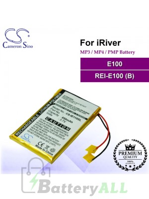 CS-IE110SL For iRiver Mp3 Mp4 PMP Battery Fit Model E100 / REI-E100 (B)