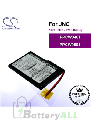CS-SFM3SL For JNC Mp3 Mp4 PMP Battery Model PPCW0401 / PPCW0504