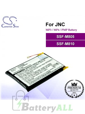 CS-SFM8SL For JNC Mp3 Mp4 PMP Battery Fit Model SSF-M805 / SSF-M810
