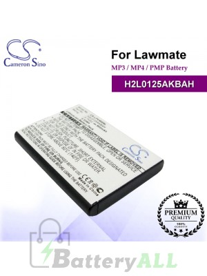 CS-LPV500SL For Lawmate Mp3 Mp4 PMP Battery Model H2L0125AKBAH