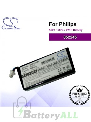 CS-SA135SL For Philips Mp3 Mp4 PMP Battery Model 852245