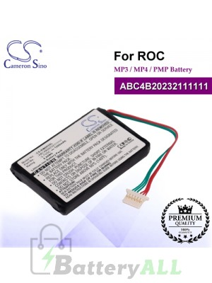 CS-RM003SL For ROC Mp3 Mp4 PMP Battery Model ABC4B20232111111
