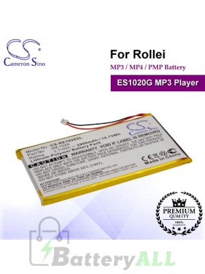 CS-RE1020SL For Rollei Mp3 Mp4 PMP Battery Fit Model ES1020G MP3 Player
