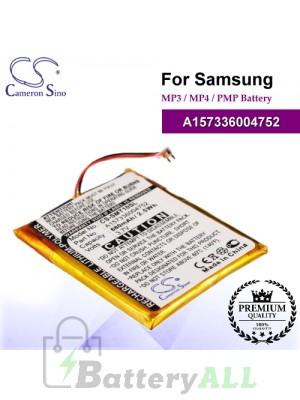 CS-SMT10SL For Samsung Mp3 Mp4 PMP Battery Model A157336004752