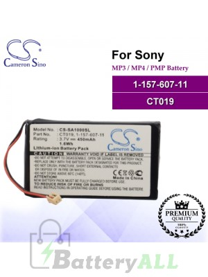 CS-SA1000SL For Sony Mp3 Mp4 PMP Battery Model 1-157-607-11 / CT019