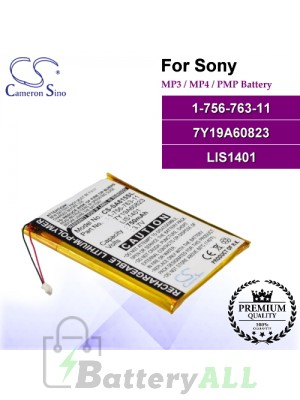 CS-SA615SL For Sony Mp3 Mp4 PMP Battery Model 1-756-763-11 / 7Y19A60823 / LIS1401