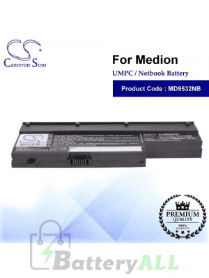 CS-MD9532NB For Medion UMPC Netbook Battery Model 40026269 / 40027608 / 40029779 / BTP-CMBM / BTP-CNBM