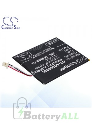 CS Battery for Amazon Kindle 7 / Kindle 7th Generation Battery ABD063SL