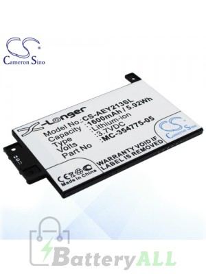 CS Battery for Amazon DP75SDI / S13-R1-S / Kindle Paperwhite 2013 Battery AEY213SL