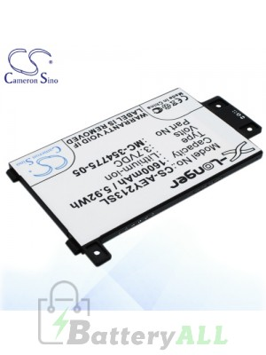 CS Battery for Amazon Kindle Touch 3G 6 inch 2013 / Touch 6 inch 2013 Battery AEY213SL