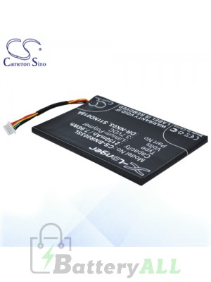 CS Battery for Barnes & Noble BNRV300 / BNTV350 Battery BNR003SL