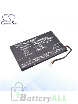 CS Battery for Barnes & Noble B01PQIL / Barnes & Noble BNRV500 Battery BNR500SL