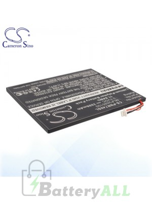 CS Battery for Pandigital CA397647 / Novel 6 / PRD06E20WWH8 Battery PNR600SL