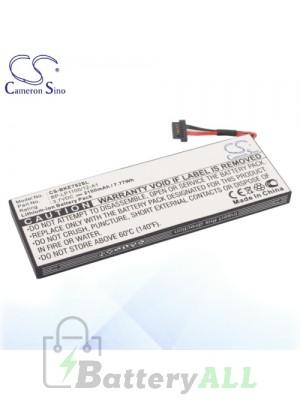 CS Battery for Becker BE7928 / Traffic Assist 7928 / BP-LP1100/12-A1 Battery BKE792SL