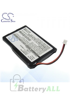 CS Battery for Blaupunkt DSNA001 / Navi GPS / TravelPilot Lucca 3.3 Battery BNG01SL