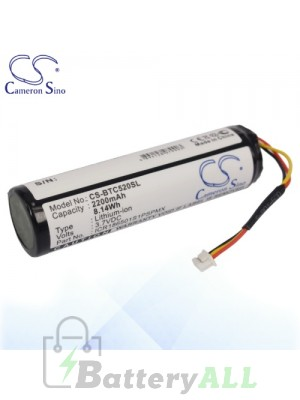 CS Battery for Blaupunkt SDI1865L2401S1PMXZ / ICR186501S1PSPMX Battery BTC520SL