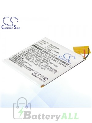 CS Battery for Apple iPod Nano G3 4GB 8GB Battery IPNA3SL